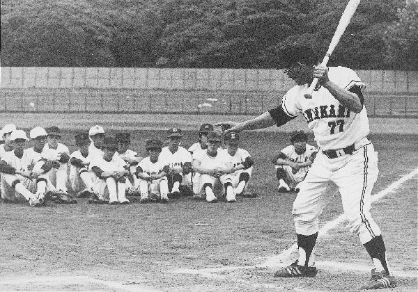 川上哲治生誕100年 川上哲治氏 野球教室