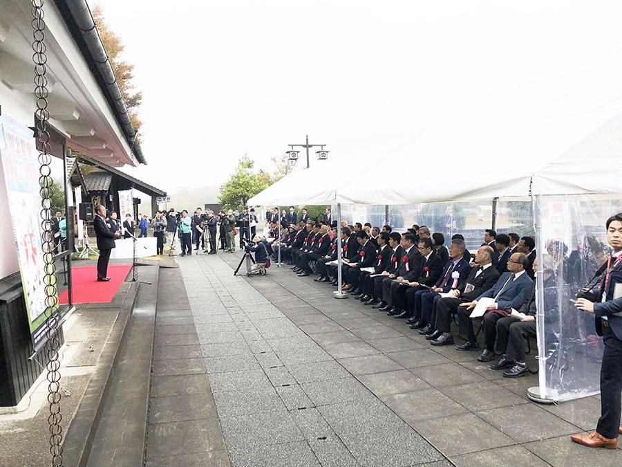 2019年11月23日記念展オープニングセレモニー|川上哲治生誕100年記念サイト